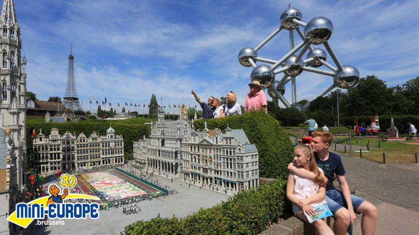 Mini-Europe est la deuxième attraction la plus visitée de Bruxelles.