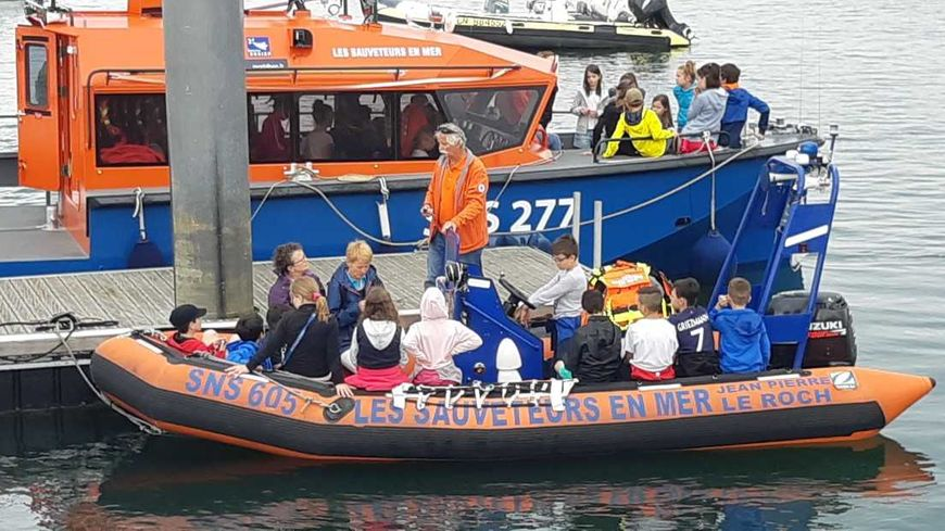 Informer tous les publics sur le sauvetage en mer, c'est l'une des missions de la SNSM