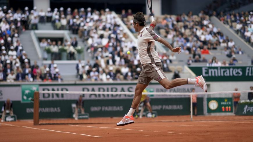 Le Suisse Roger Federer fait partie des têtes d'affiche de cette huitième journée du tournoi de Roland-Garros.