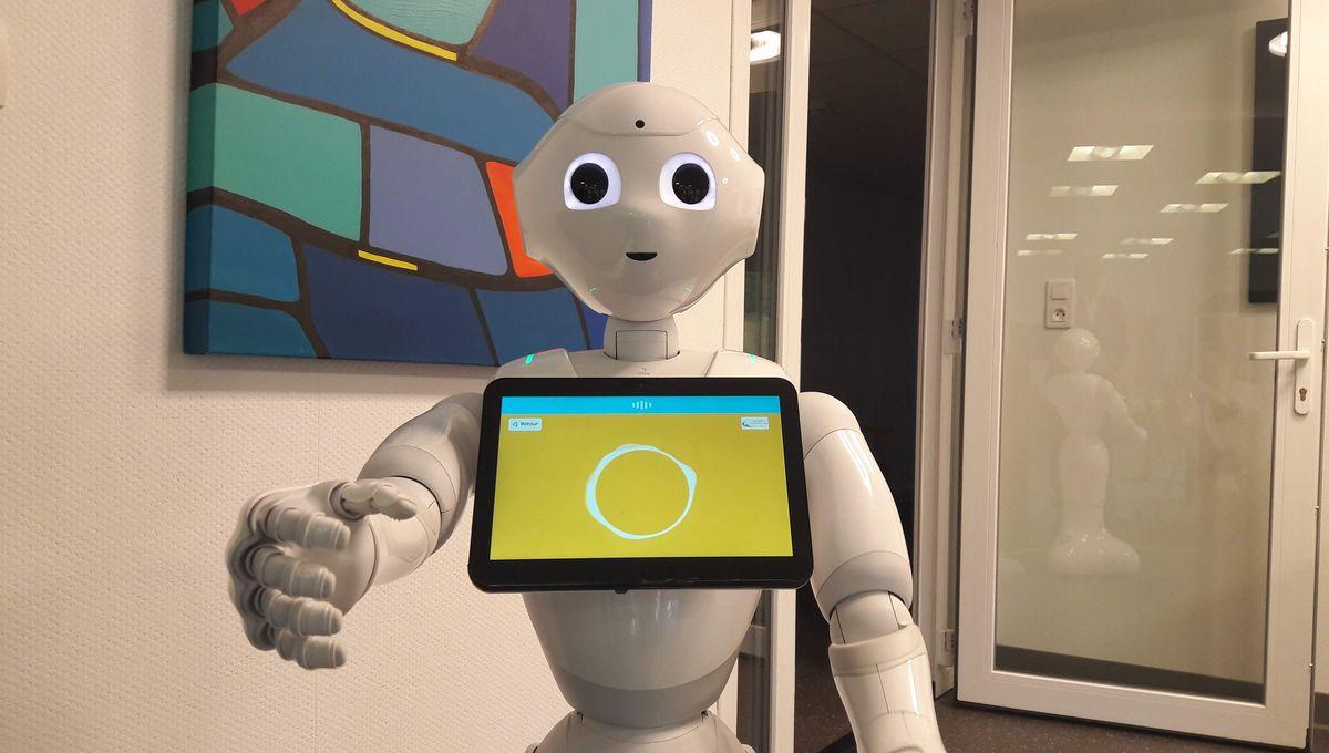 VIDEO - Un Ehpad d'Illkirch accueille Juliet, un robot pour divertir les personnes âgées