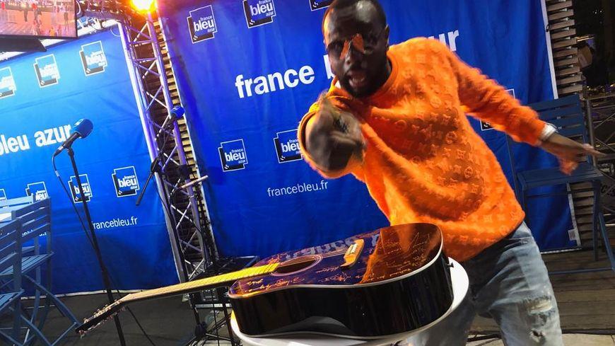 GIMS depuis les Studios de France Bleu Azur - fête de la Musique 2019