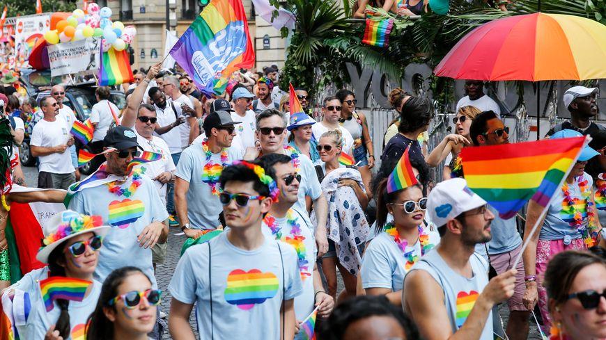 Gay Pride 2018 à Paris