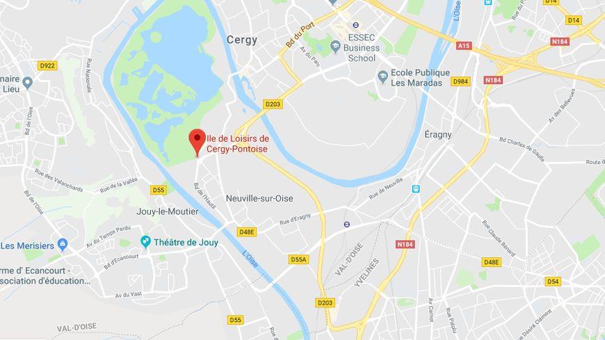 L'accident a eu lieu ce jeudi soir à l'île de loisirs de Cergy-Pontoise