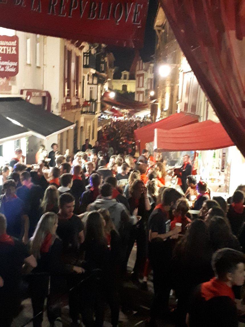 """Les fêtes de Saint Jean de Luz """"a tope"""" vendredi soir"""