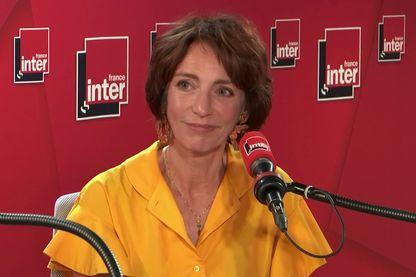 Marisol Touraine, le 25 juin 2019, dans les studios de France Inter.