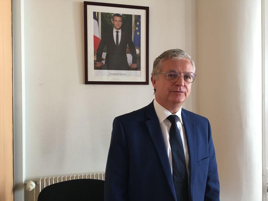 Patrick Sisco, Directeur des finances publiques du Puy-de-Dôme