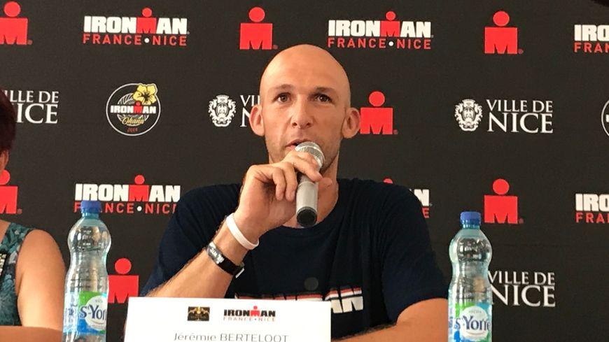 Le directeur de l'Ironman de Nice Jérémie Berteloot