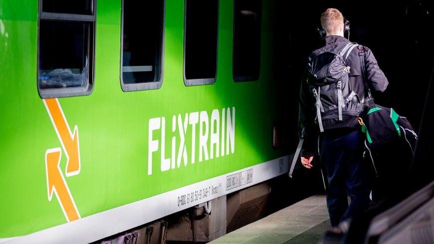 FlixTrain est déjà en place en Allemagne comme ici à Hanovre.