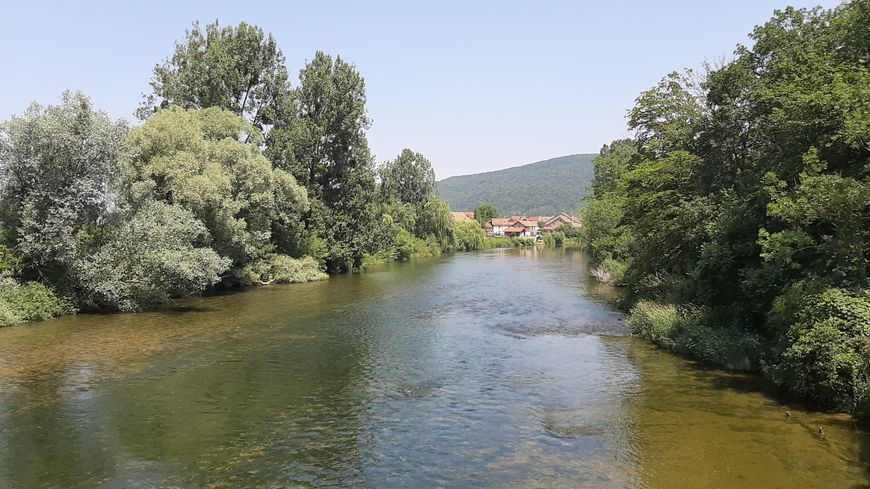 Le Doubs à Bourguignon