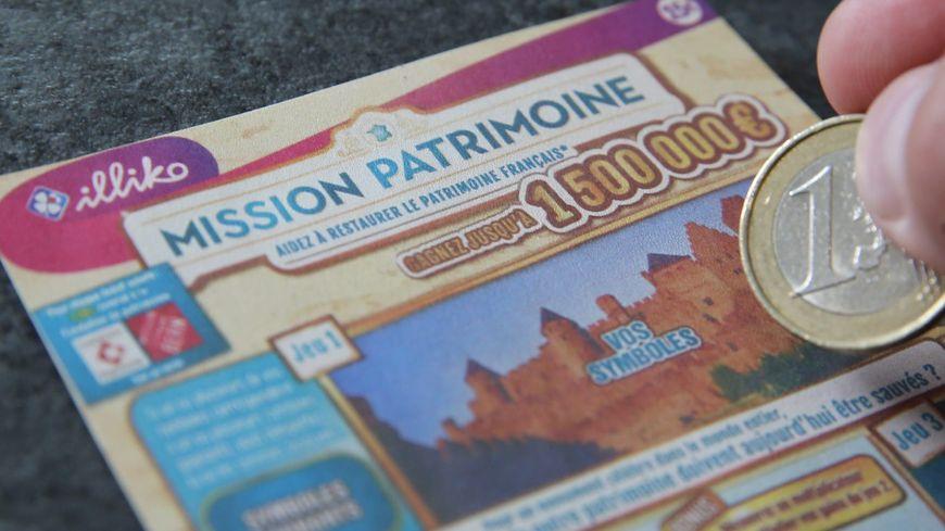 La Française des Jeux lancera en septembre deux tickets à gratter pour le Loto du patrimoine, un à 15 euros, l'autre à trois euros.