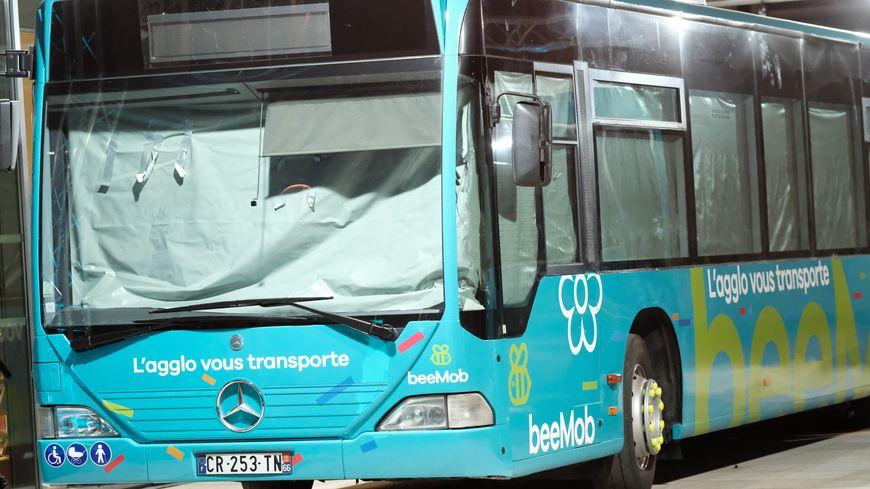 Bus GNV en circulation ce lundi à Béziers