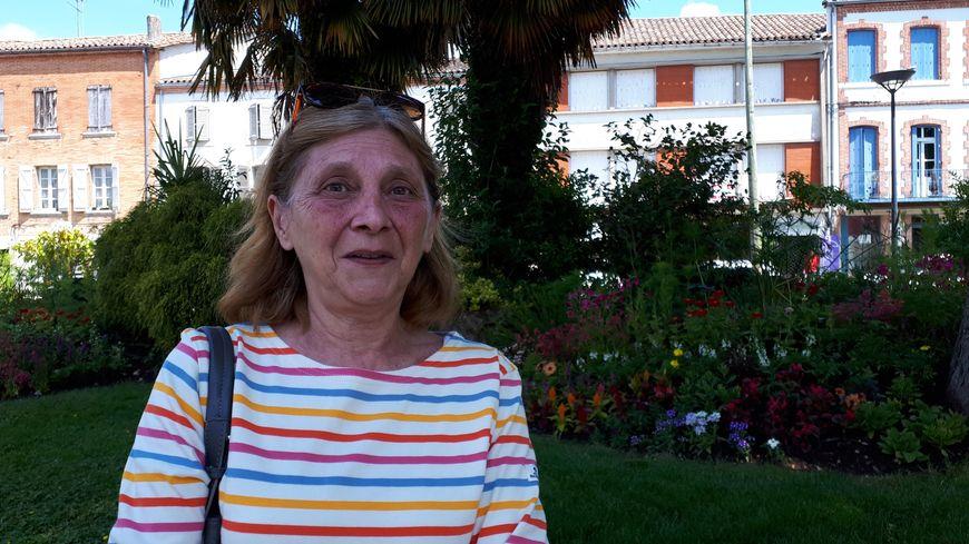 Catherine Lenglet, spécialiste en histoire de Caussade (82)