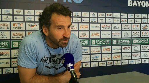 Vincent Etcheto est désormais ex-entraineur de l'Aviron Bayonnais, après 4 saisons sur le banc
