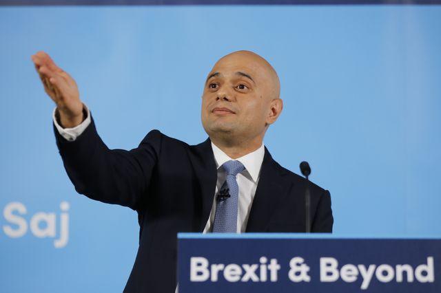 Sajid Javid, ancien opposant au brexit, devenu eurosceptique