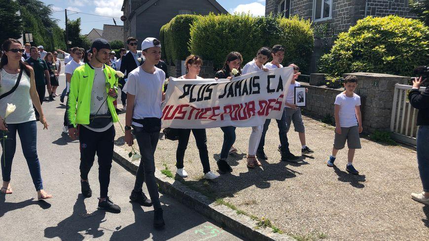 Plus de 200 personnes ont marché en mémoire de Denis décédé jeudi au CHU Pontchaillou à Rennes