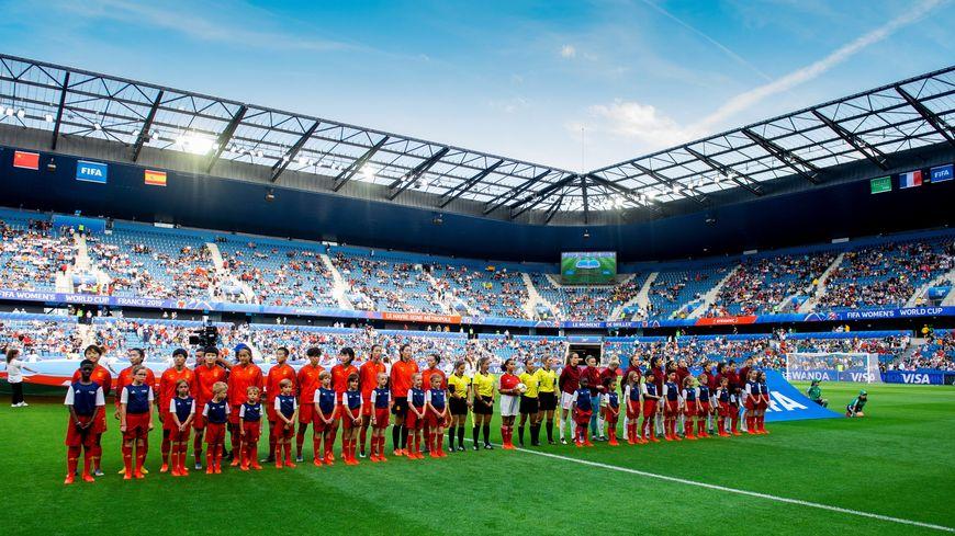 Le Stade Océane du Havre ne fait pas le plein mais attire au minimum 10.000 spectateurs par rencontre