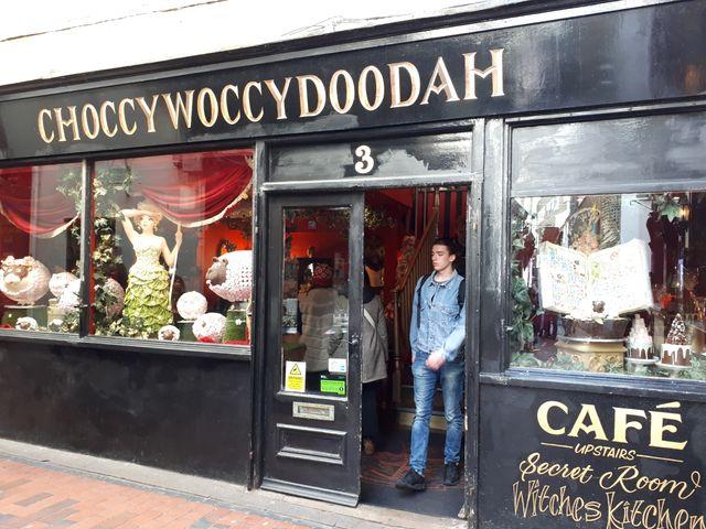 Choccywoccydoodah, un endroit incontournable pour les amateurs de chocolat.