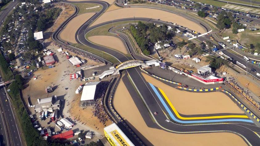 Le circuit des 24 h du Mans