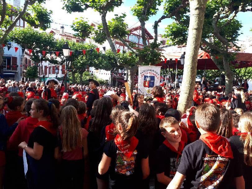Les fêtes à Saint Jean de Luz vendredi