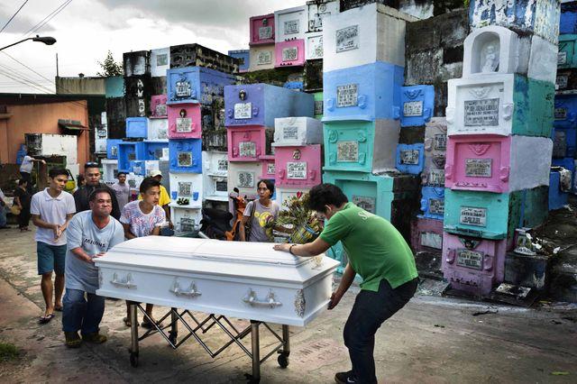 Funérailles d'Herman Batbonton, Manille, oct. 2016