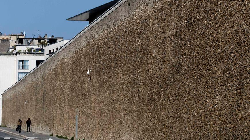 Mur de la prison de la Santé 0 Paris