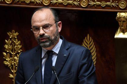 """Edouard Philippe  : """"Je suis inénervable"""" aux députés de l'opposition lors de son discours de politique générale."""