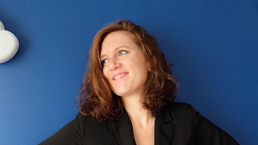 """Marie Clémence Bordet Nicaise, auteur de """"On ne choisit pas qui on aime"""", chez Flammarion."""