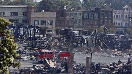 L' incendie au Studio Universal en 2008