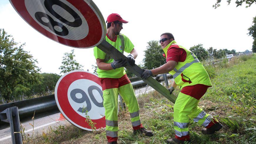 1 000 panneaux devront être installés pour le passage au 90km/h sur les routes départementales du Tarn