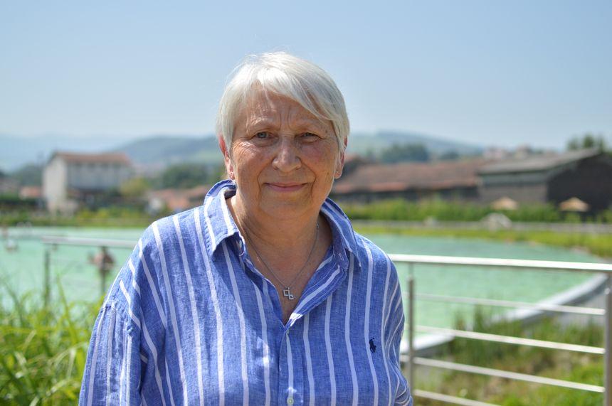 Eliane Legros, la première adjointe mairie de Lorette et responsable du site.