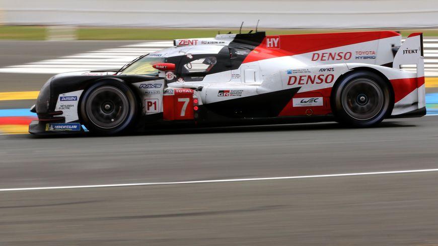 La Toyota #7 signe le meilleur temps de cette première séance de qualification
