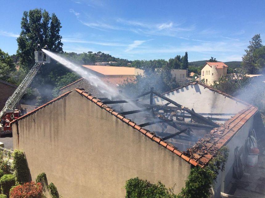 Plus de vingt de sapeurs-pompiers étaient engagés sur les lieux