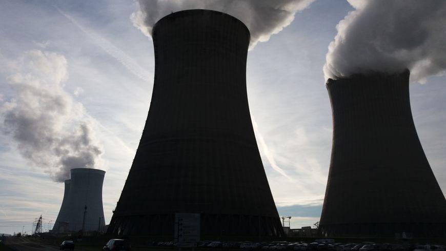 La centrale de Dampierre-en-Burly (décembre 2016)