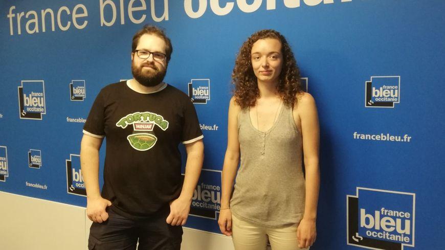 Denis Chadeuil et Emilie Bosc