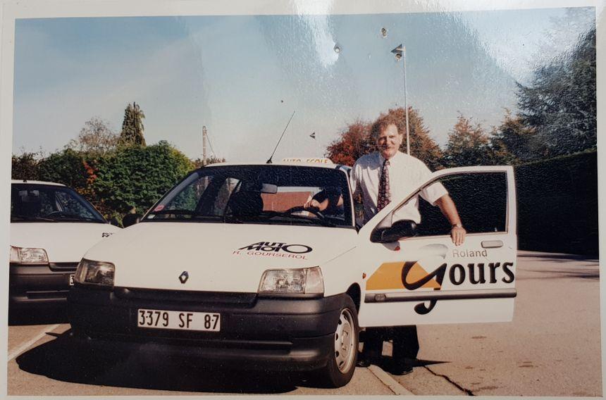 Roland Gourserol, le père d'Alexandre a créé l'affaire en août 1979