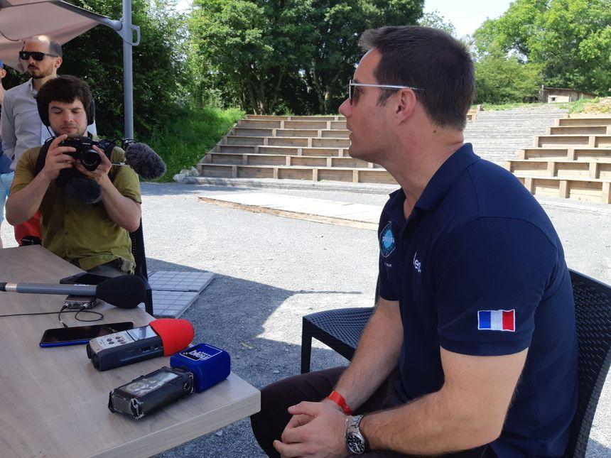 Thomas Pesquet sur le site Echologia en Mayenne
