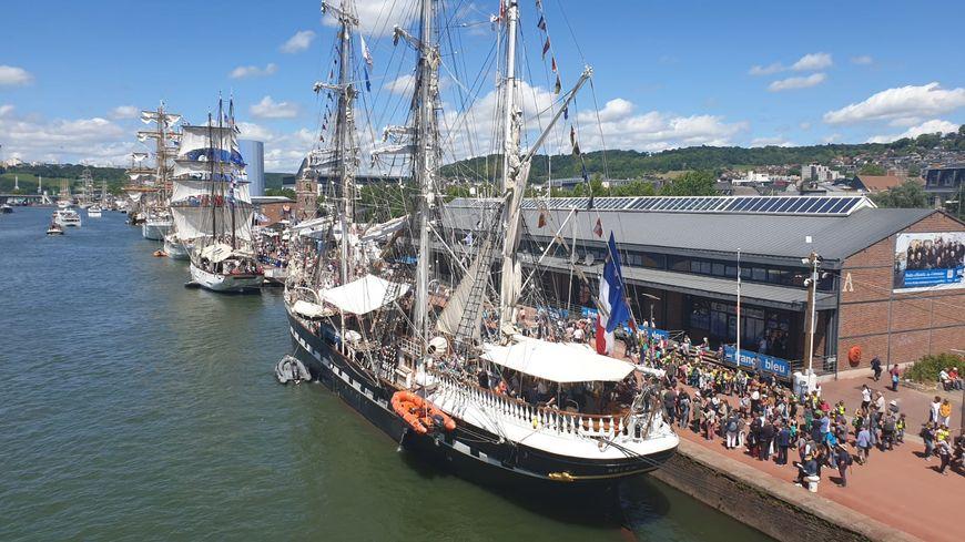 L'Armada de Rouen sous le soleil ce vendredi 14 juin 2019