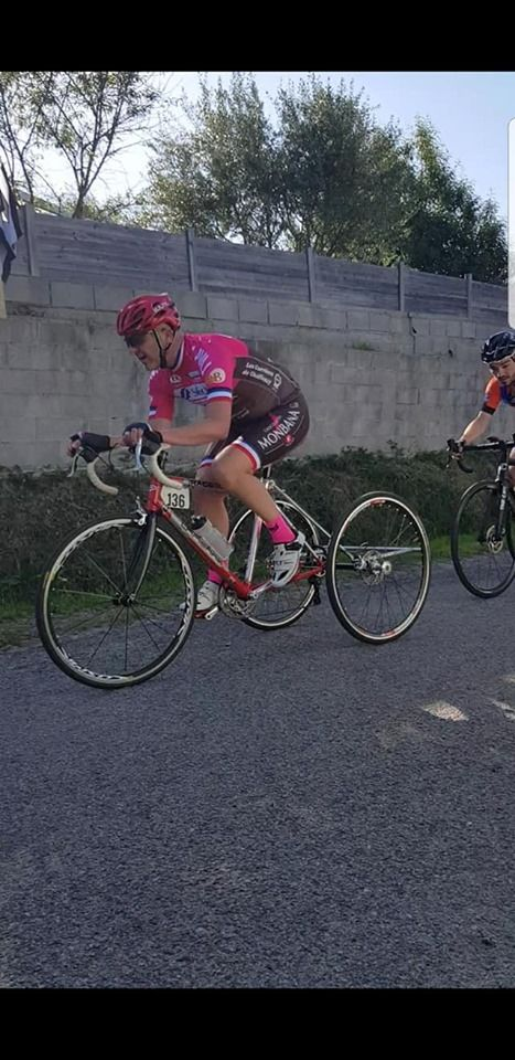 David Blin lors de la course