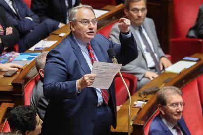 Le député MoDem des Hauts-de-Seine Jean-Louis Bourlanges, à l'Assemblée nationale française à Paris, le 5 juin 2019.
