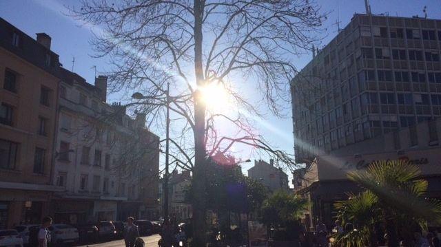 La ville de Châteauroux innondée de soleil