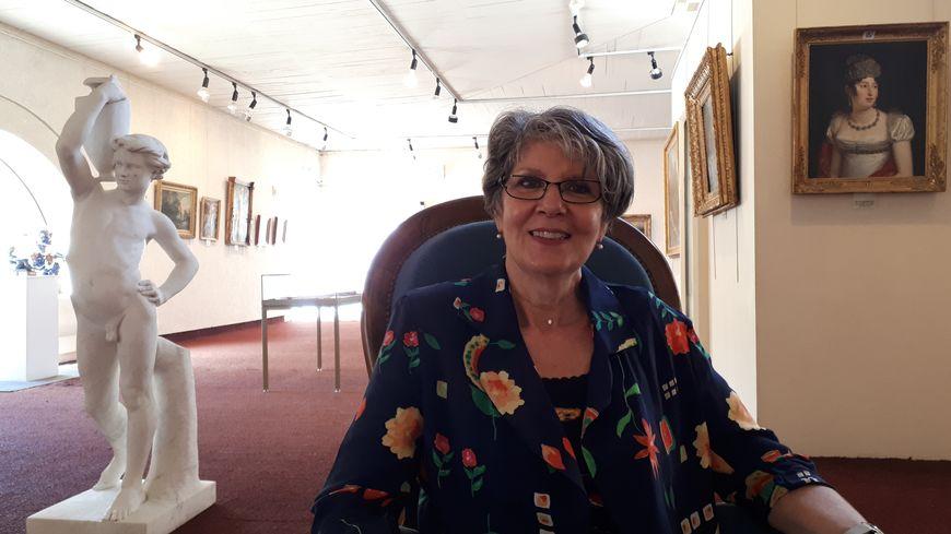 Gisèle Beuste, directrice de l'office de tourisme de Mirande (32°