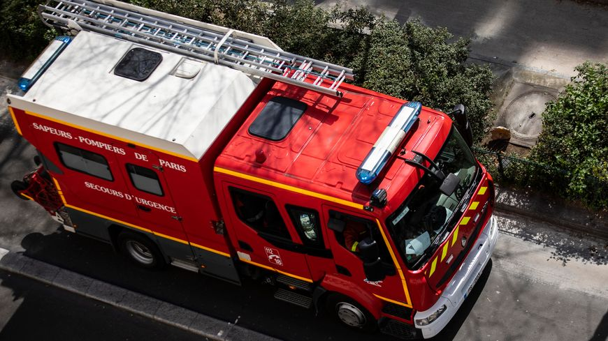 Intervention des pompiers de Paris à Bobigny le 2 juin 2019. Photo d'illustration