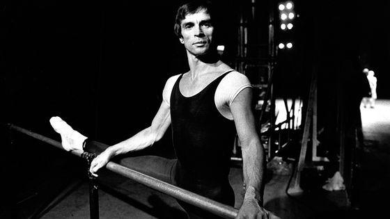 Rudolf Noureev en répétition au London Coliseum, en 1980.