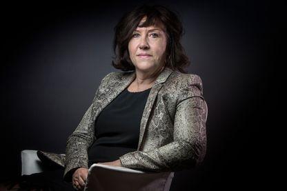 La journaliste et écrivaine, Raphaëlle Bacqué à Paris le 16 février 2016.
