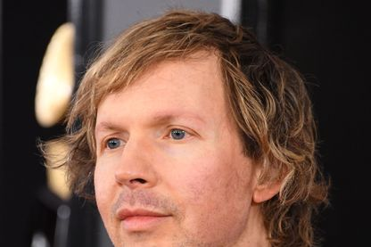 L'auteur-compositeur, Beck, alias Beck Hansen pendant la cérémonie des GRAMMY Awards au Staples Center le 10 février 2019 à Los Angeles
