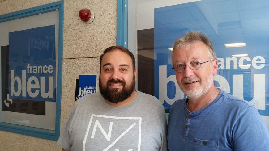 Pascal Bernardi et Eric Weiss