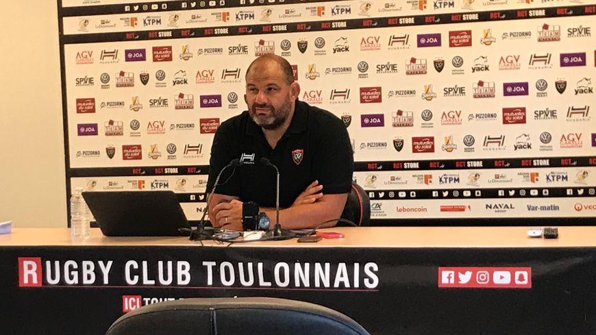 """Patrice Collazo, manager général du Rugby Club Toulonnais """"impatient que ça commence"""""""