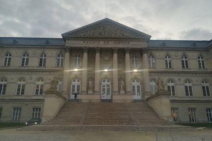 Palais de justice d'Amiens dans la Somme. Janvier 2019. (Photo d'illustration)