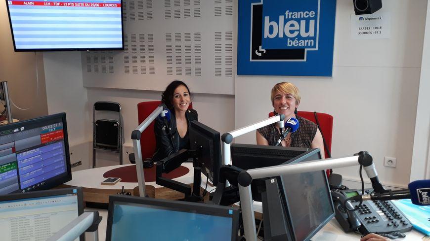 Marina Chilo et Patricia Pourrillou dans notre studio