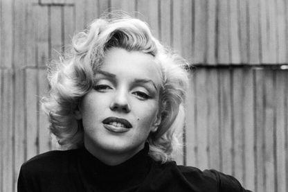 Portrait de l'actrice Marilyn Monroe en 1953.